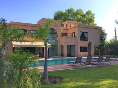 vza308e/ villa haut standing contemporaine / route de ouarzazate / 4 ...